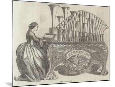 The Aerephon--Mounted Giclee Print