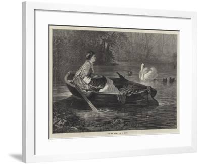 On the River--Framed Giclee Print