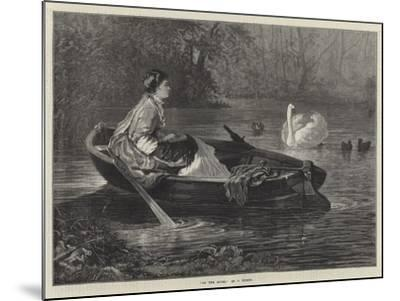 On the River--Mounted Giclee Print