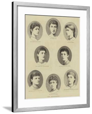 The Bridesmaids--Framed Giclee Print