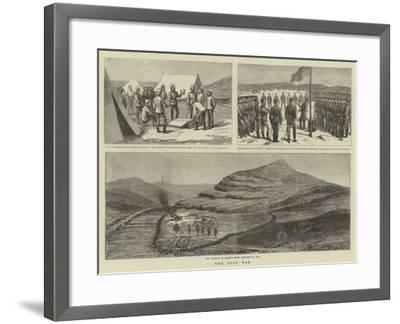 The Zulu War--Framed Giclee Print