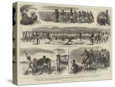The Zulu War--Stretched Canvas Print