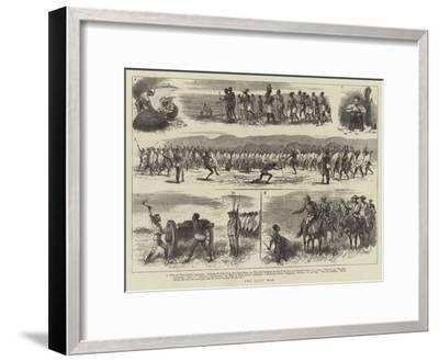 The Zulu War--Framed Giclee Print