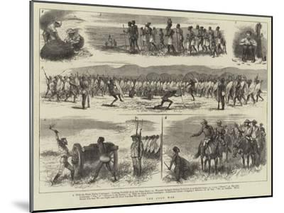 The Zulu War--Mounted Giclee Print