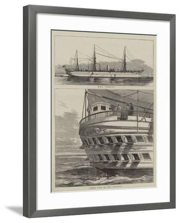HMS Serapis--Framed Giclee Print