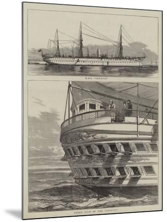 HMS Serapis--Mounted Giclee Print