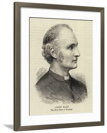 Canon Eliot--Framed Giclee Print