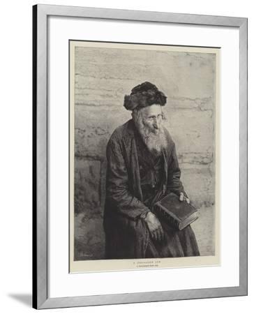 A Jerusalem Jew--Framed Giclee Print