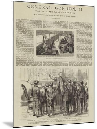 General Gordon--Mounted Giclee Print