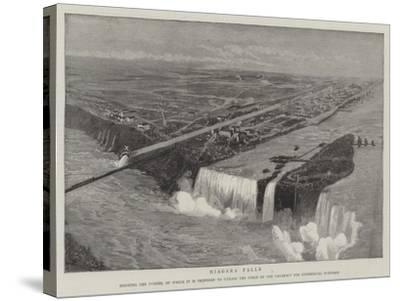 Niagara Falls--Stretched Canvas Print