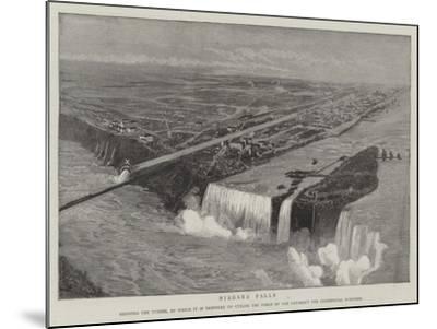 Niagara Falls--Mounted Giclee Print