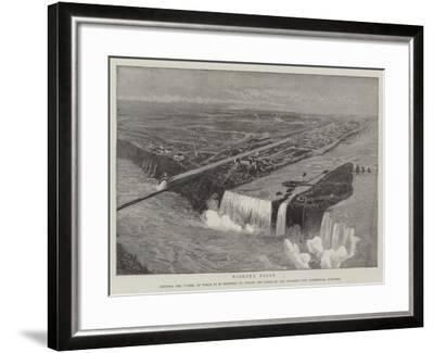 Niagara Falls--Framed Giclee Print