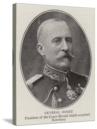 General Roget--Stretched Canvas Print