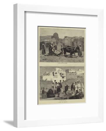 Life in Egypt--Framed Giclee Print