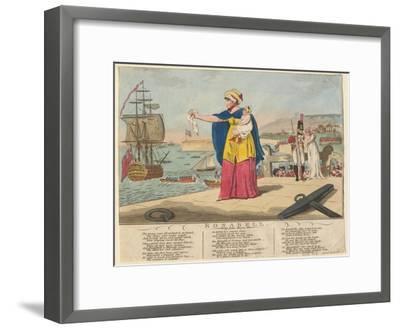 Rosabell, 1806--Framed Giclee Print