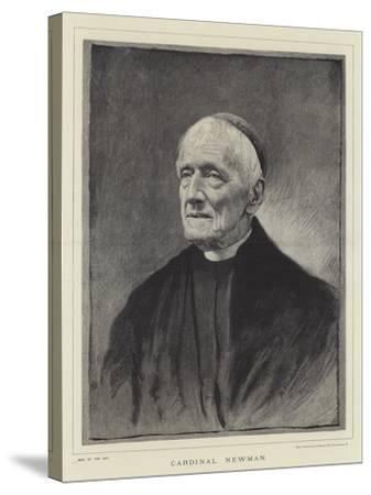 Cardinal Newman--Stretched Canvas Print