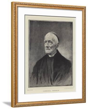 Cardinal Newman--Framed Giclee Print