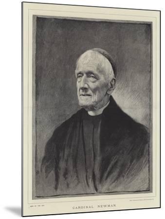 Cardinal Newman--Mounted Giclee Print