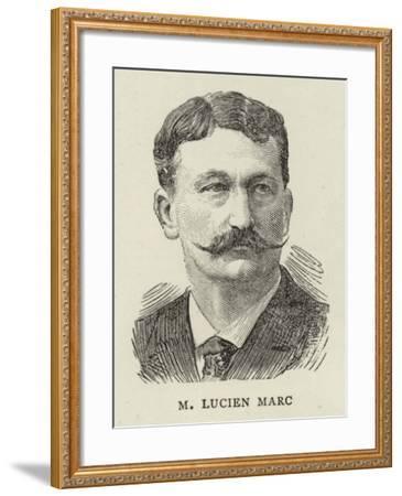 M Lucien Marc--Framed Giclee Print