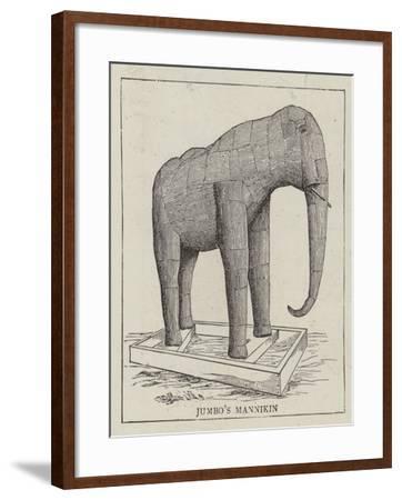 Jumbo Stuffed--Framed Giclee Print