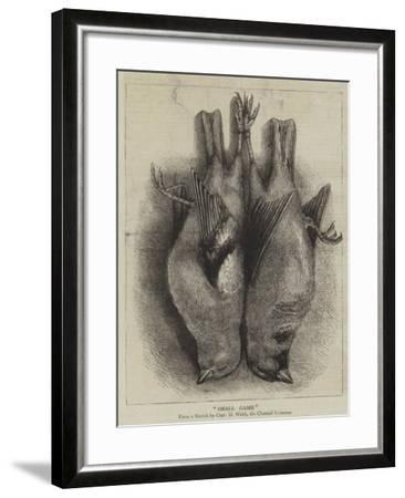 Small Game--Framed Giclee Print