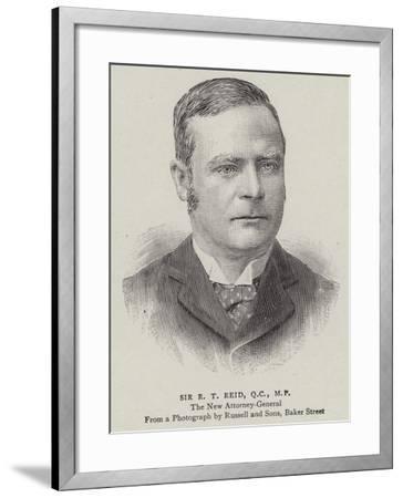Sir R T Reid--Framed Giclee Print