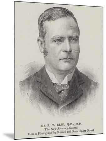 Sir R T Reid--Mounted Giclee Print