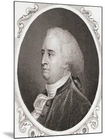 John Rutledge--Mounted Giclee Print