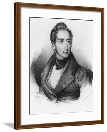 Alphonse De Lamartine--Framed Giclee Print