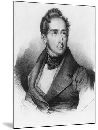 Alphonse De Lamartine--Mounted Giclee Print