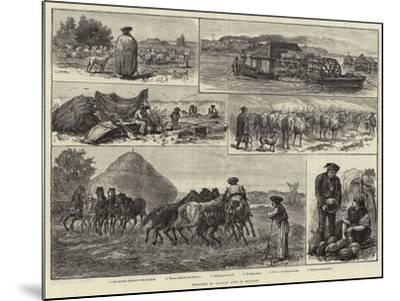 Sketches of Peasant Life in Hungary--Mounted Giclee Print