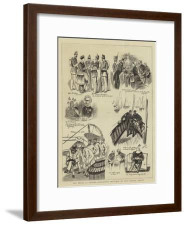 The Fetes at Ostend--Framed Giclee Print
