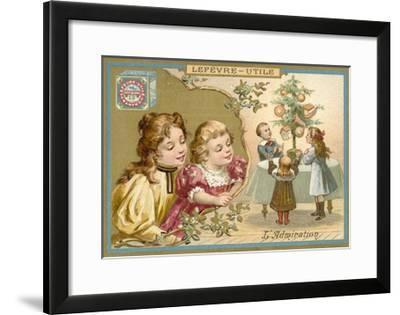 Admiration--Framed Giclee Print