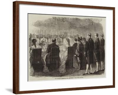 The Empress Eugenie's New Abyssinian Page--Framed Giclee Print