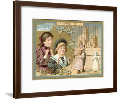 Astonishment--Framed Giclee Print
