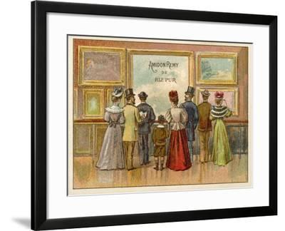Advertisement for Amidon Remy De Riz Pur--Framed Giclee Print