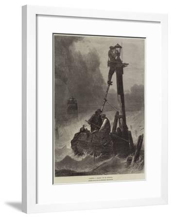 Lighting a Beacon--Framed Giclee Print