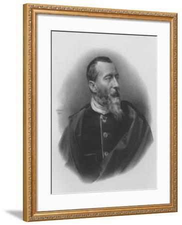 Jean-Baptiste-Alphonse Karr--Framed Giclee Print