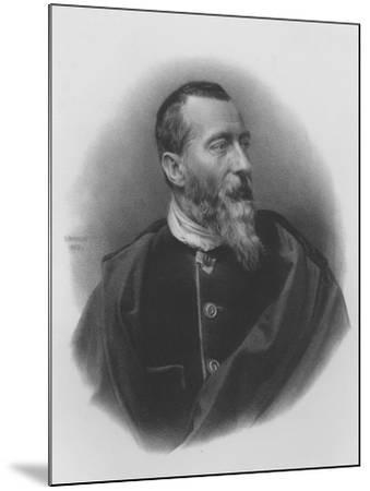 Jean-Baptiste-Alphonse Karr--Mounted Giclee Print