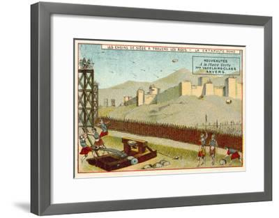 Roman Catapult--Framed Giclee Print