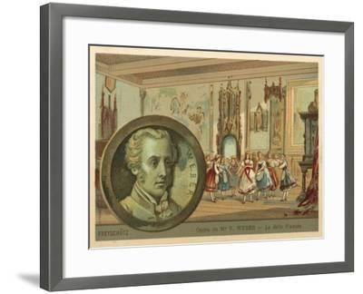 Scene from Carl Maria Von Weber's Opera Der Freischutz--Framed Giclee Print