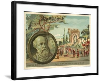 Scene from Charles Gounod's Opera Le Tribut De Zamora--Framed Giclee Print