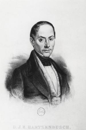 Juan Eugenio Hartzenbusch--Stretched Canvas Print