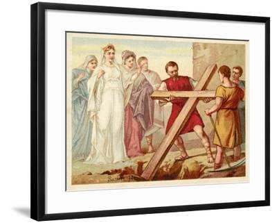 St Helena Discovering the True Cross--Framed Giclee Print