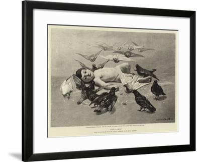 Semiramis--Framed Giclee Print