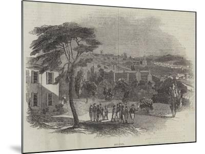 Belper--Mounted Giclee Print