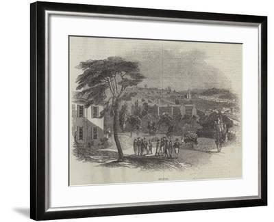 Belper--Framed Giclee Print