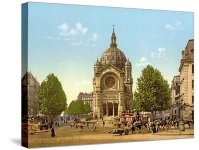 Saint-Augustin, Paris, Pub. C.1900--Stretched Canvas Print