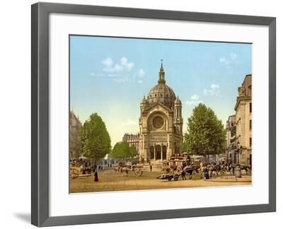 Saint-Augustin, Paris, Pub. C.1900--Framed Giclee Print