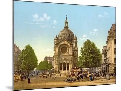 Saint-Augustin, Paris, Pub. C.1900--Mounted Giclee Print